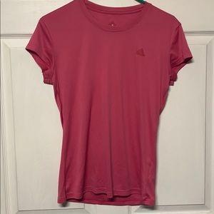 •Adidas• Pink Workout Tee